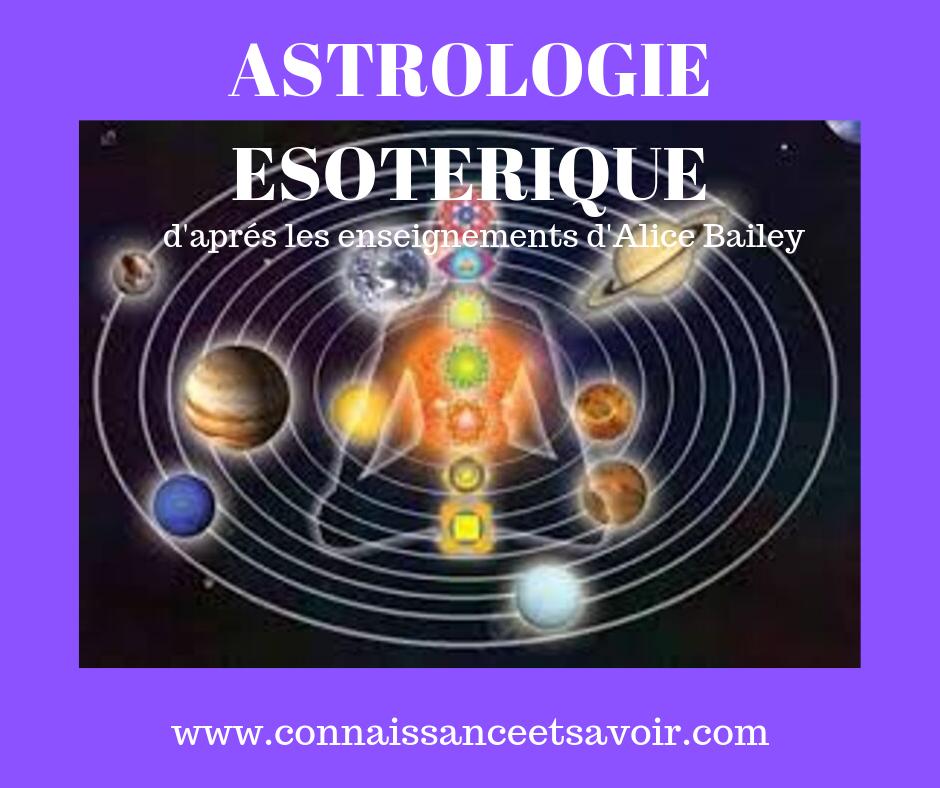 Cours en ligne ASTROLOGIE ESOTERIQUE