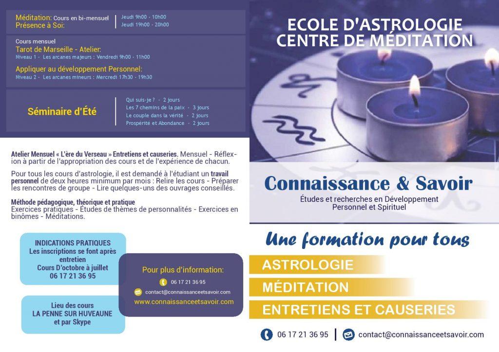 Ecole d'Astrologie - Formation Aubagne (13)