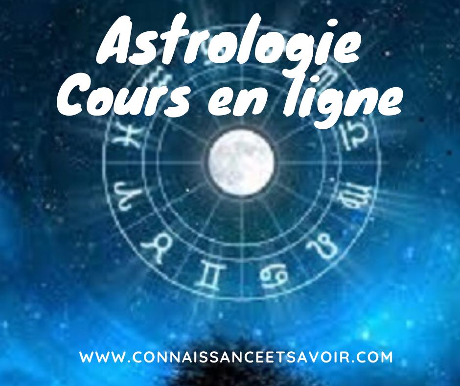 Astrologie cours en ligne