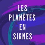 Les planètes en signes - Livre